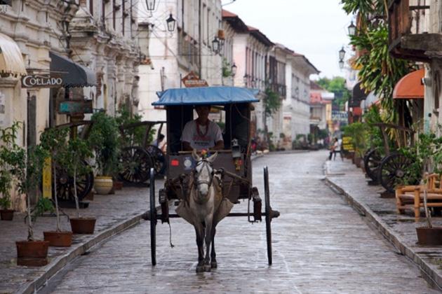 フィリピン 古都ビガン
