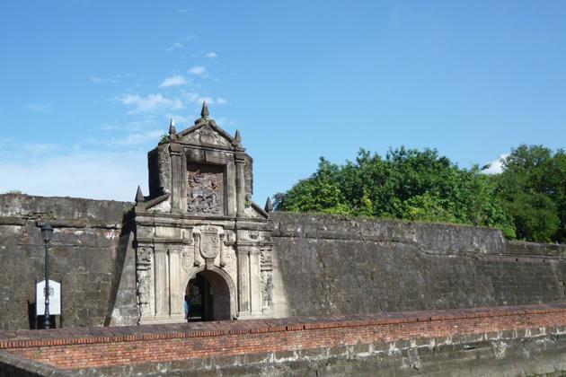 フィリピン サンチャゴ要塞