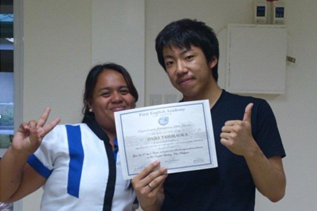 First English Academy 安良岡大輝さん(20代大学生/4週間留学)